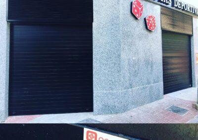 Persianas automáticas con cerramientos de seguridad